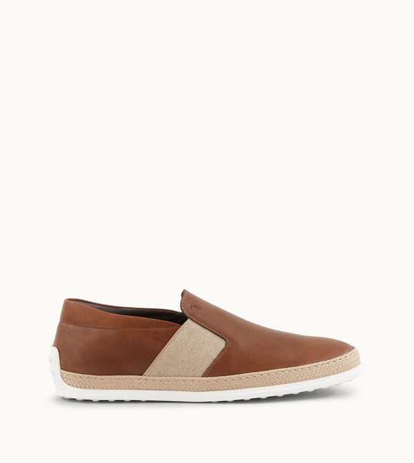 Tod's Slip-Ons In Leather