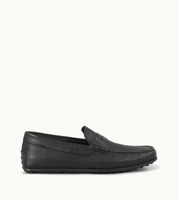 Tod's City Spyder Loafers In Leather