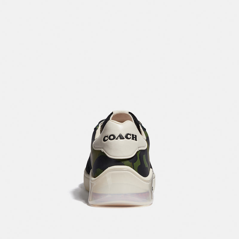 Coach Citysole court sneaker with wild beast print