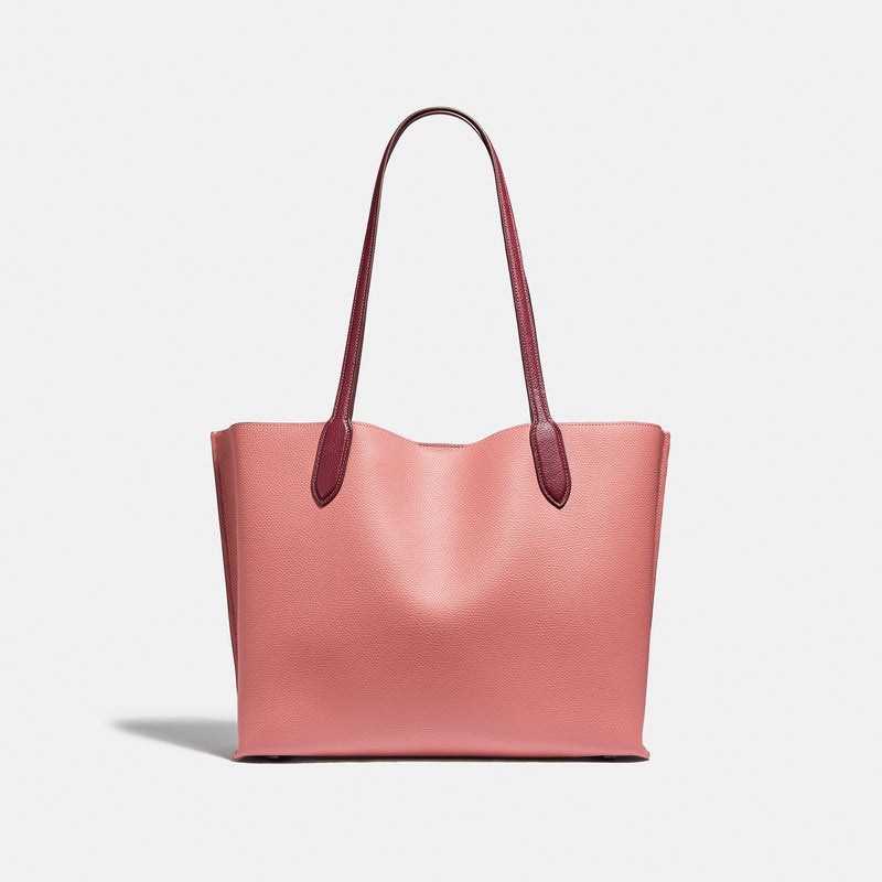 Coach Colorblock cc sig in willow tote