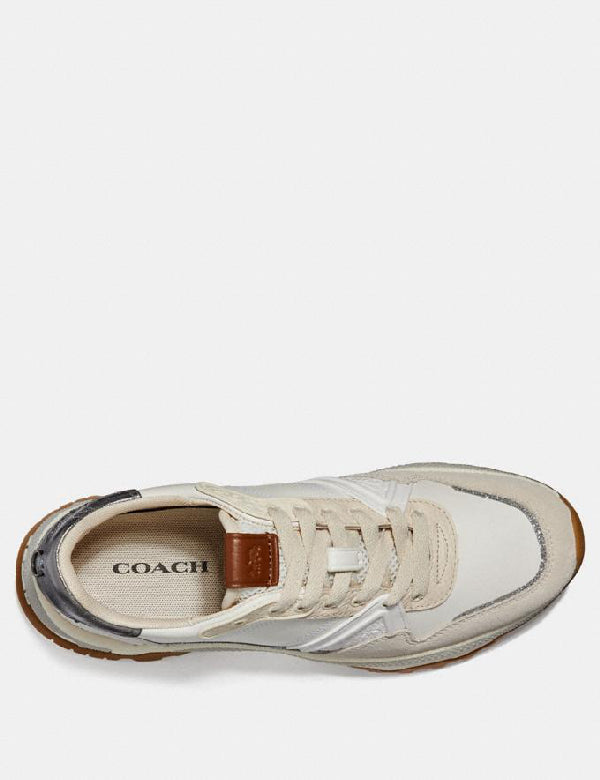 Coach C143 Runner With Glitter- Armor And Sued