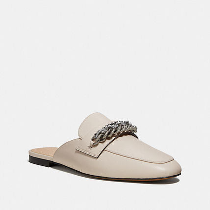Coach Faye Multi Chains Loafer Slide- Leather