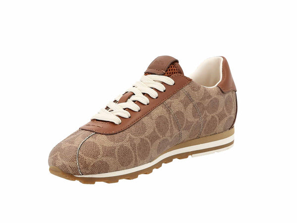 Coach C170 Retro Runner- Coated Canvas And Lea