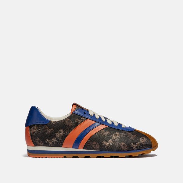 Coach C170 Retro Runner With Horse And Carriage Print