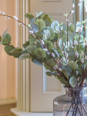 Pussy Willow & Eucalyptus bouquet