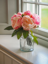 Little Buds Peonies : Pink ( with vase)