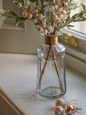 Snowberry Sparkle (with vase)