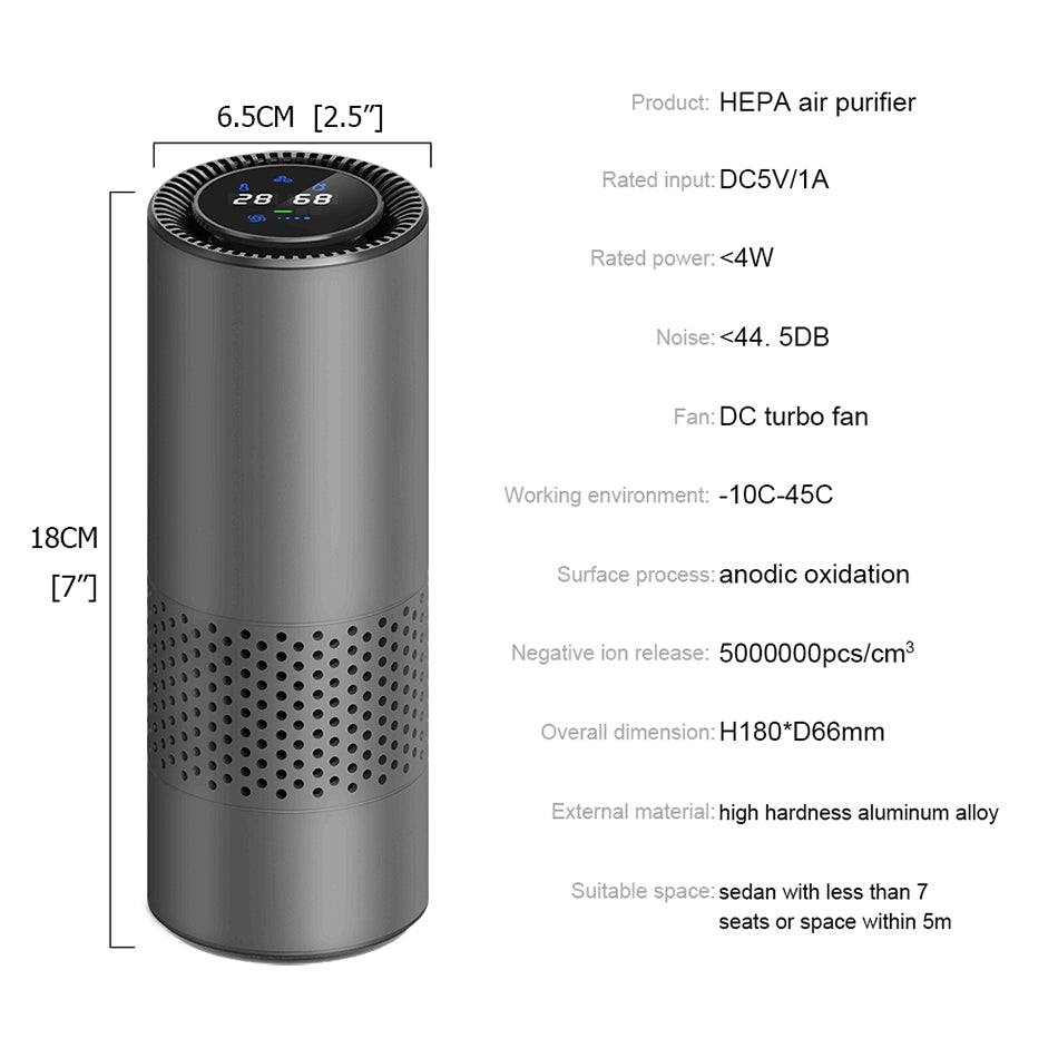 Air Purifier with HEPA Filter