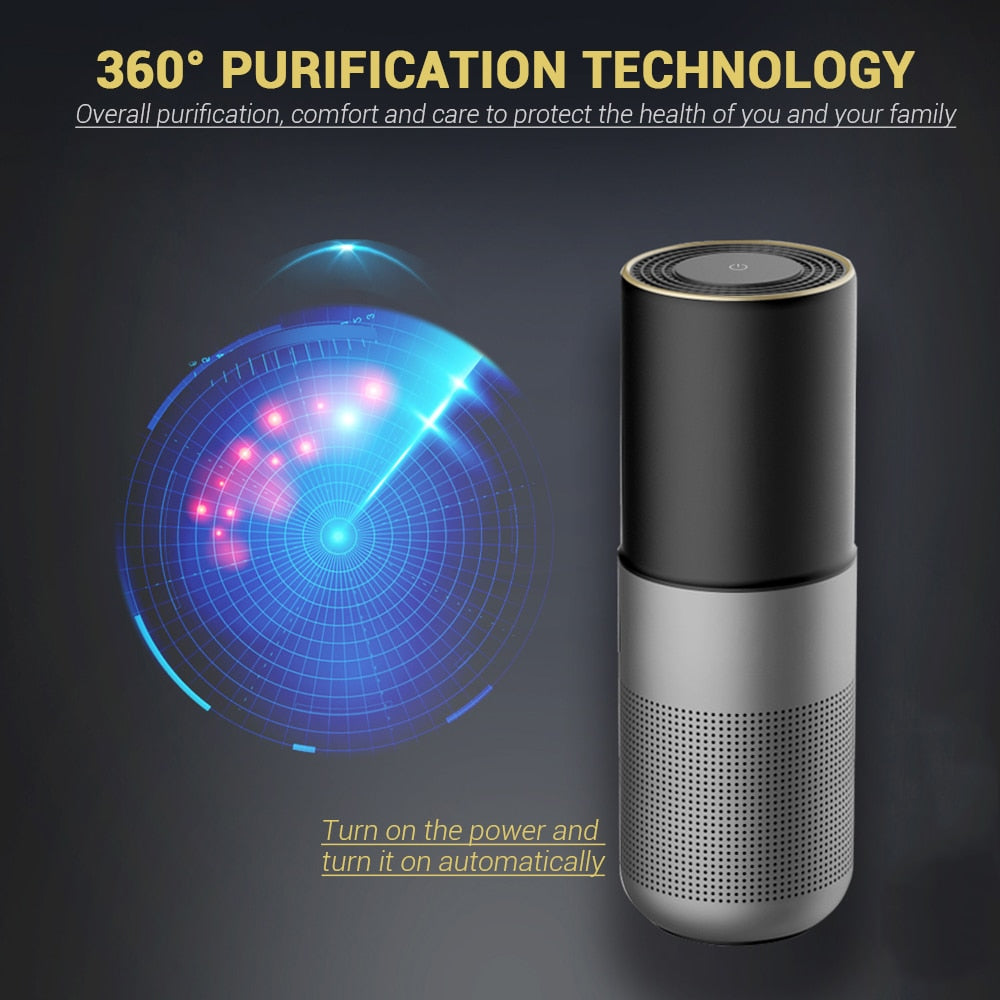 NEW USB Ozone Generator Air Purifier