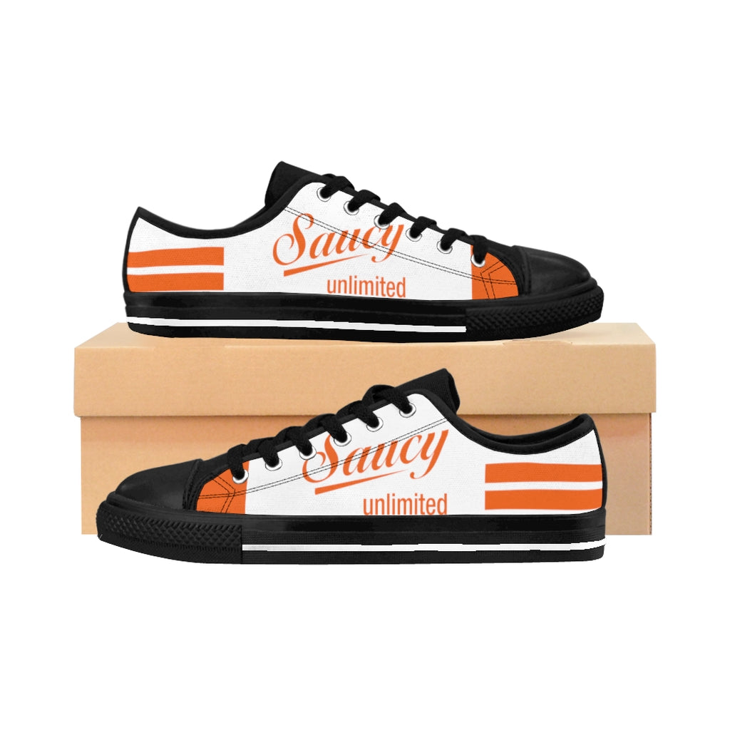 SAUCY UNLIMITED (WHITE/ORANGE) BUTTERFLIES