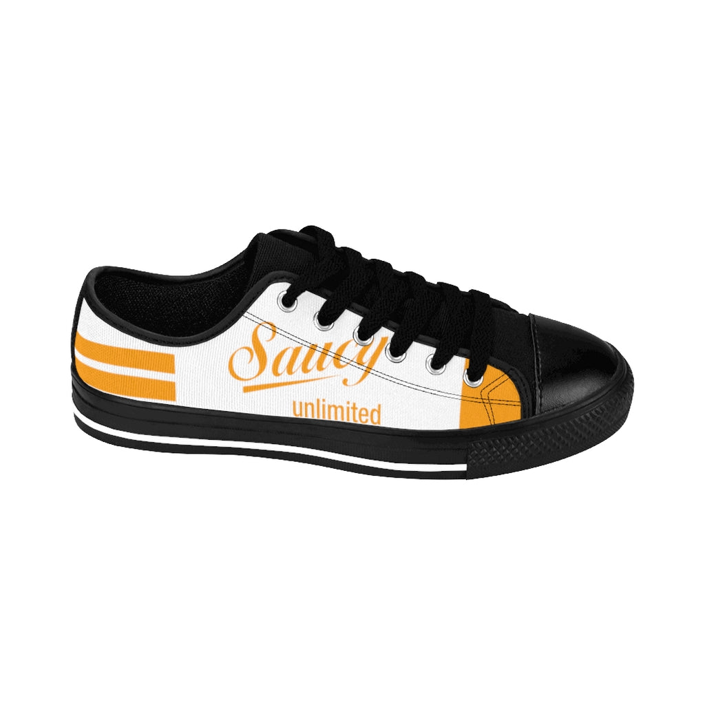 SAUCY UNLIMITED (BLACK/WHITE/GOLD) BUTTERFLIES