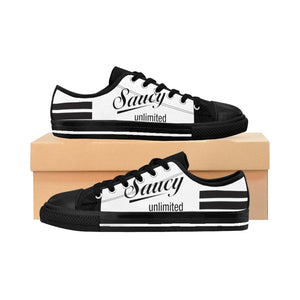 SAUCY UNLIMITED (WHITE/BLACK) BUTTERFLIES