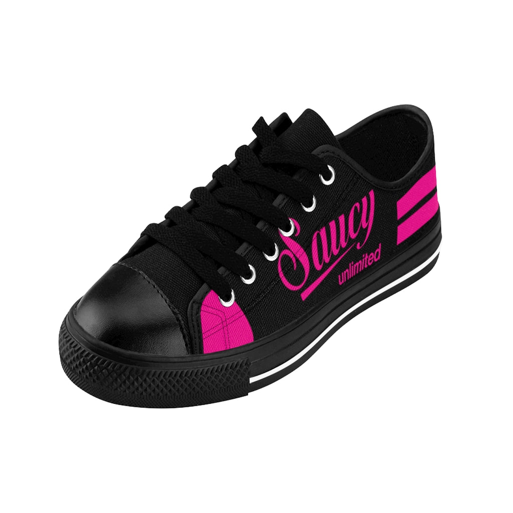 SAUCY UNLIMITED (BLACK/PINK) BUTTERFLIES