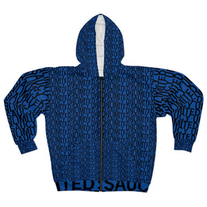 Saucy Unlimited 'NEW YORK PRINT' Zip-up