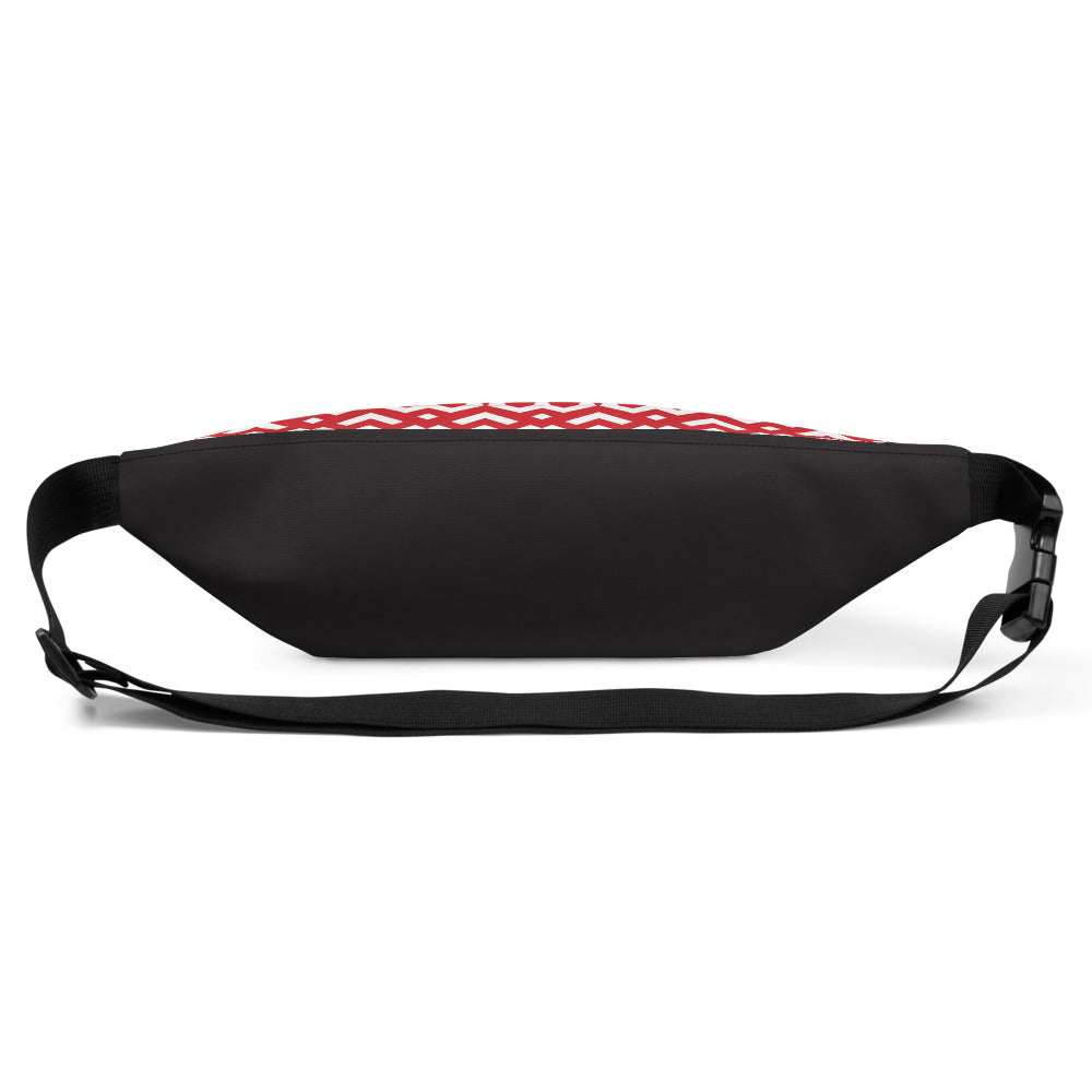 Saucy Unlimited red 'Heart Chain' Fanny Pack