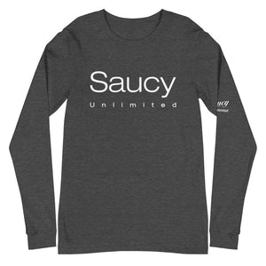 2 Layer Saucy Unlimited 2 Level Long Sleeve Tee