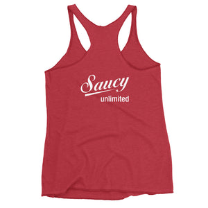Saucy Unlimited Flowers Tank