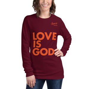 SAUCY UNLIMITED 'Love Is God' Long Sleeve Tee