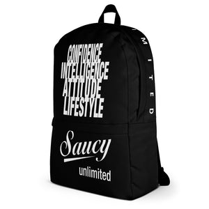 Saucy Unlimited 'Violet Streaks' Backpack