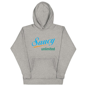 3 color logo Saucy Unlimited Hoodie