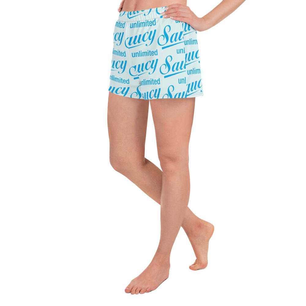 Saucy Unlimited blue all-over Shorts