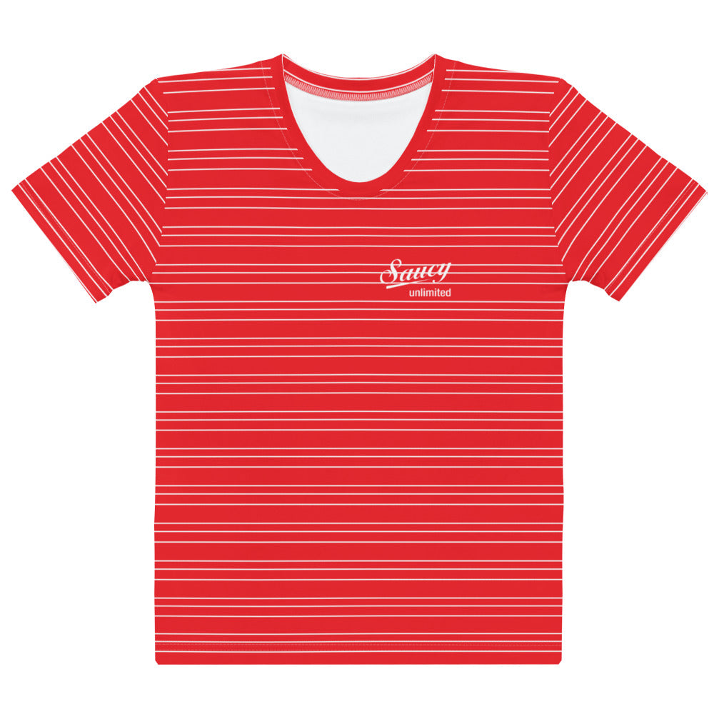 Saucy Unlimited SAUCY STRIPES 4 All-over t-shirt