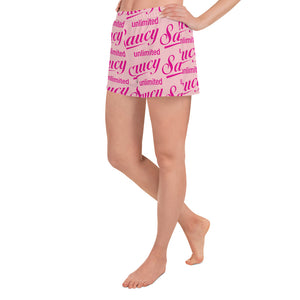 Saucy Unlimited pink all-over Shorts