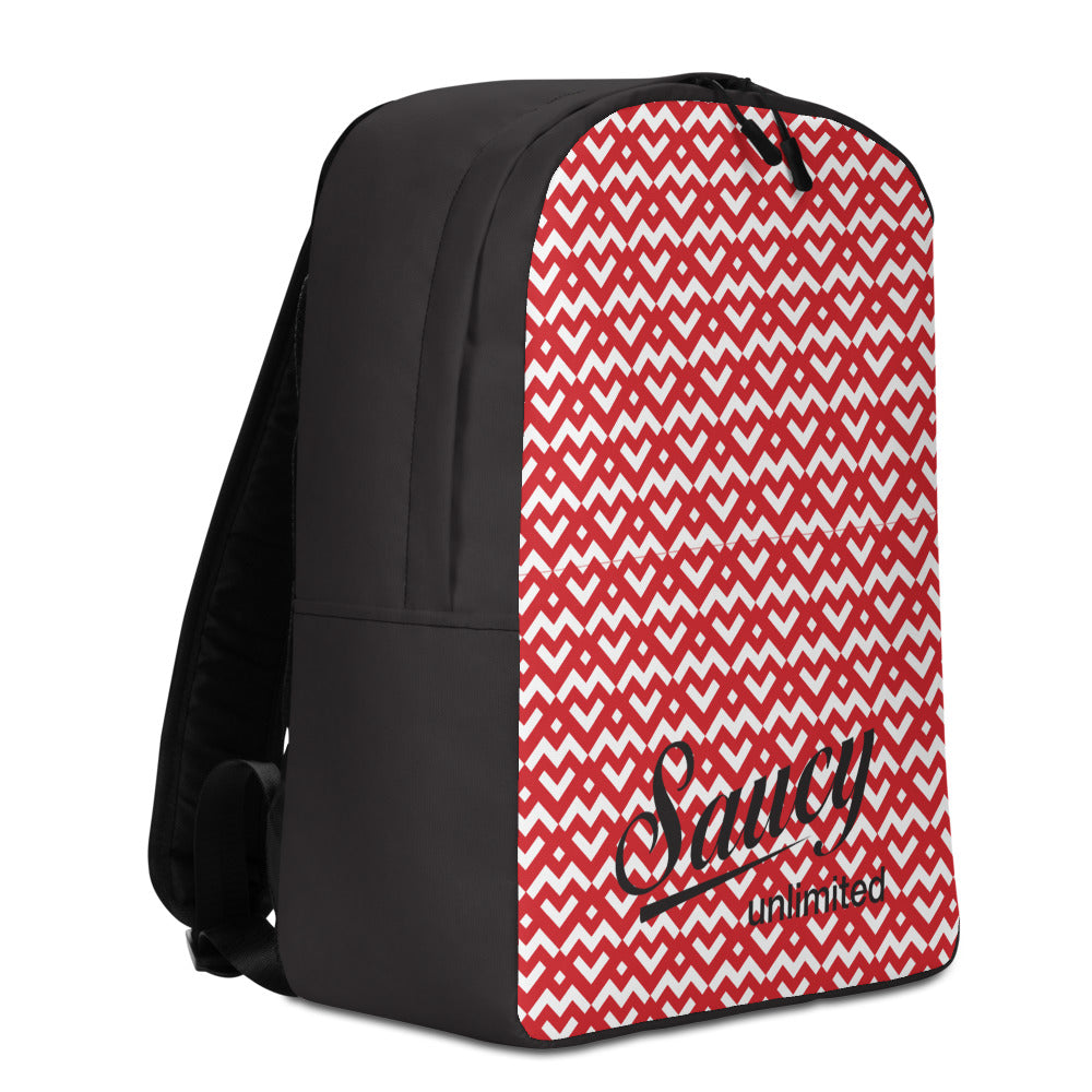Saucy Unlimited Heart Minimalist Backpack
