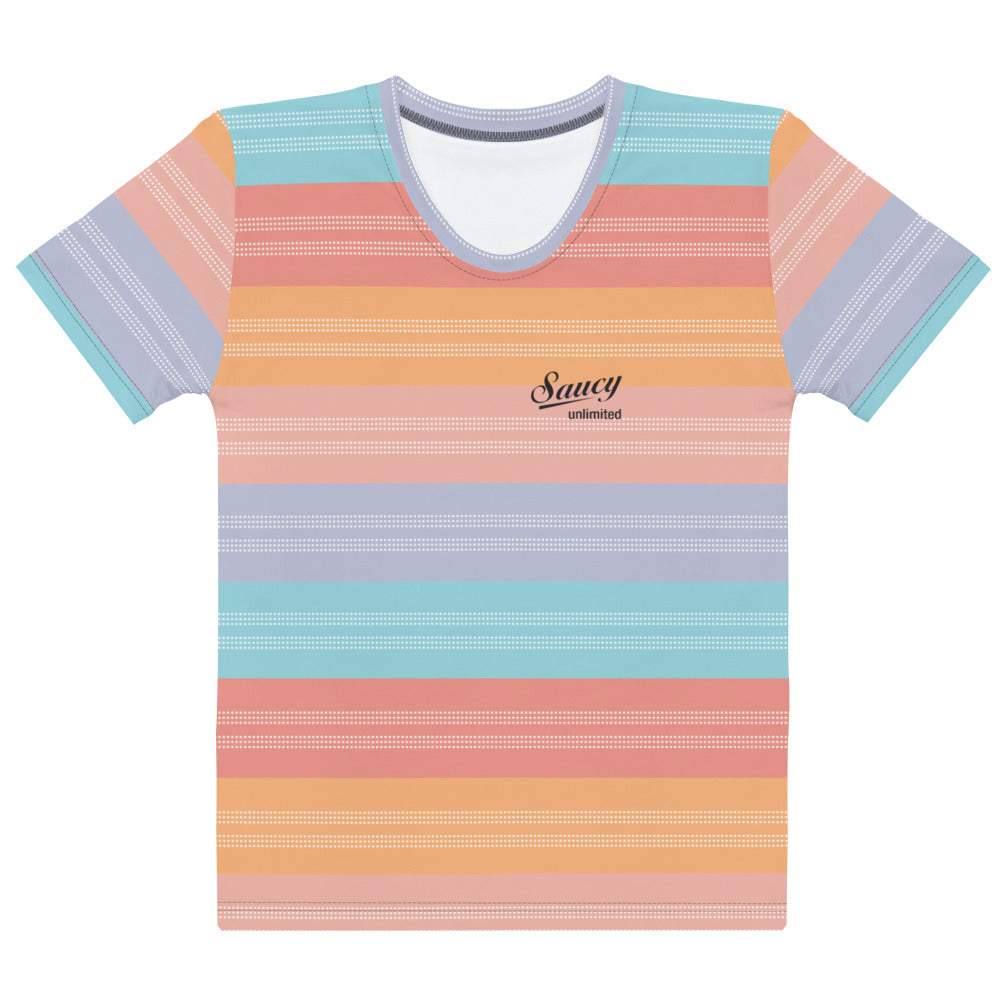 Saucy Unlimited SAUCY STRIPES 2 All-over t-shirt