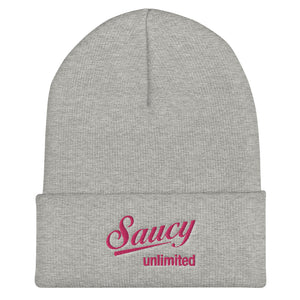 Saucy Unlimited Cuffed Beanie