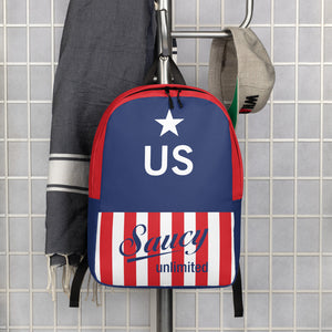 Saucy Unlimited United States Minimalist Backpack