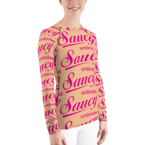 Saucy Unlimited All-Over Long Sleeve T-shirt