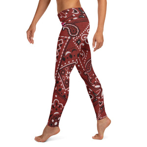 Saucy Unlimited Red Bandana Leggings