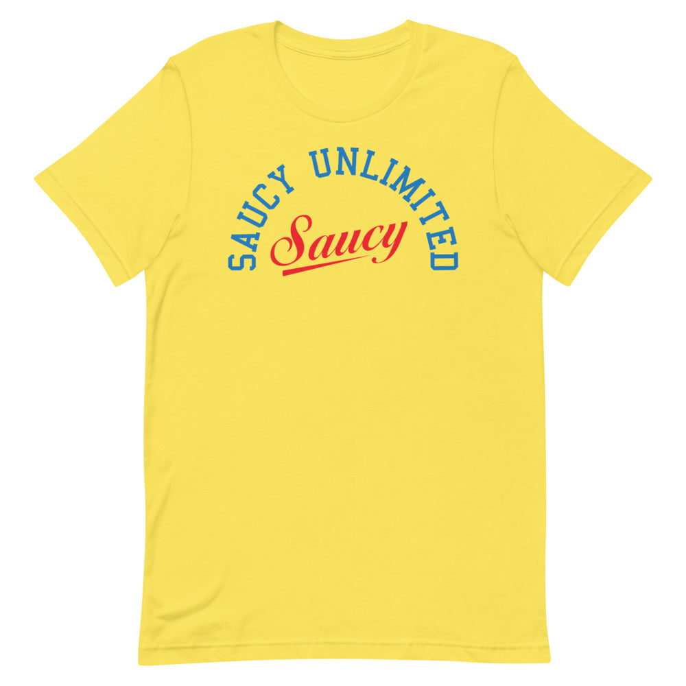 Saucy Unlimited DUO LOGO Short-Sleeve Unisex T-Shirt