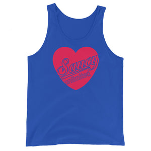 Saucy Unlimited Heart Tank Top
