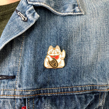 Load image into Gallery viewer, Misfortune Cat - Enamel Pin