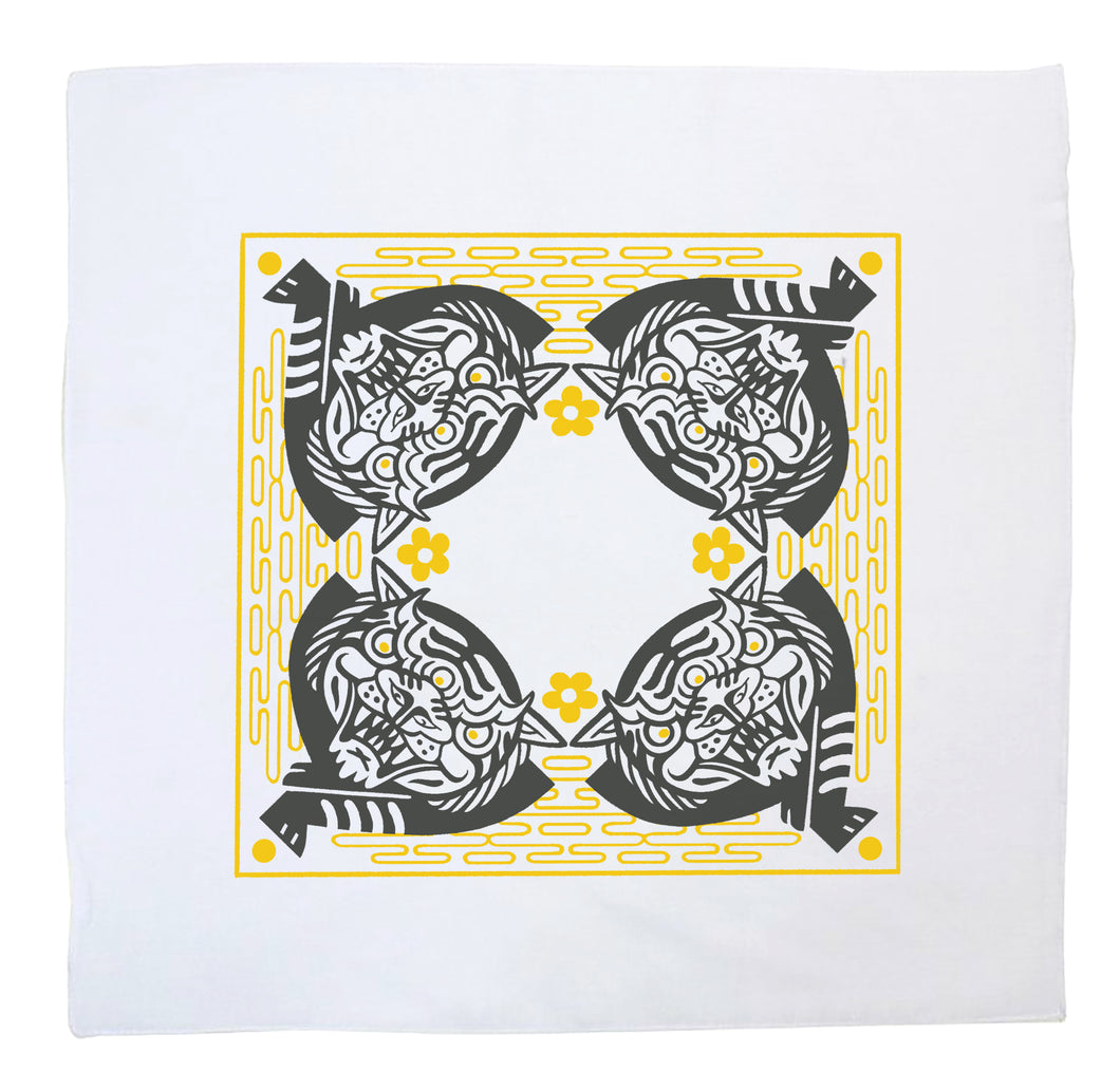 Artist Bandana - Three Eyed Tiger