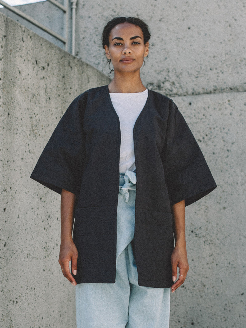 Rumi Jacket - Faded Black