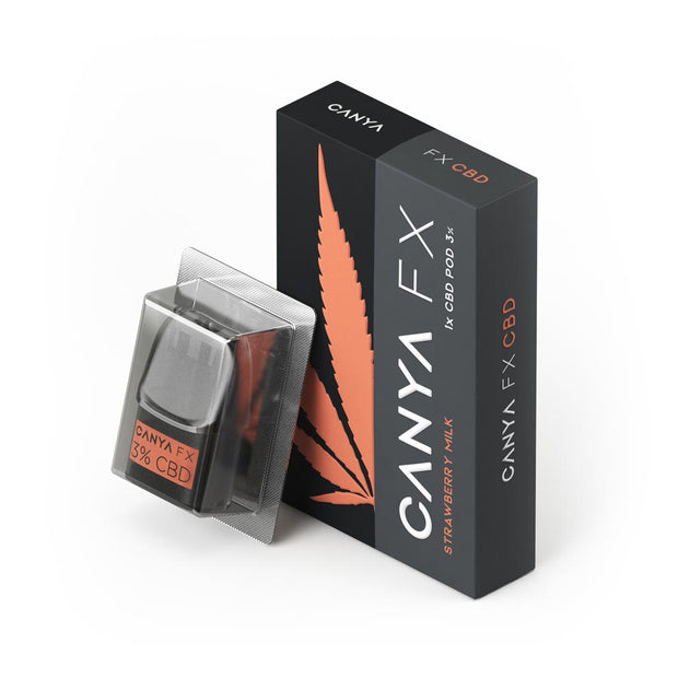 CANYA FX Strawberry Milk CBD Pod