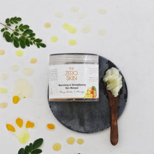 Nourishing & Strengthening Hair Masque (Mango Butter & Moringa)