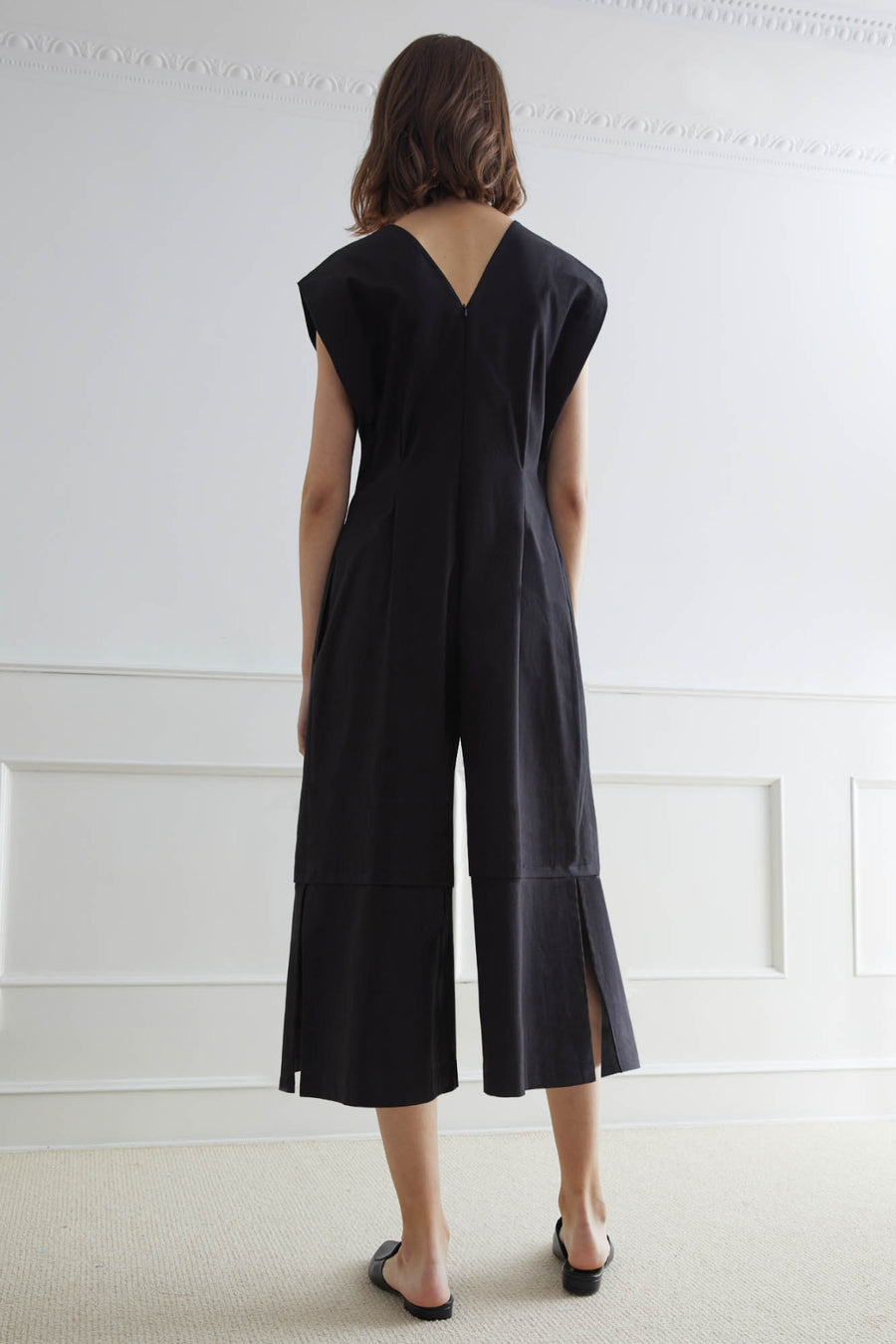 HAKODATE Jumpsuit With Shoulder Fold