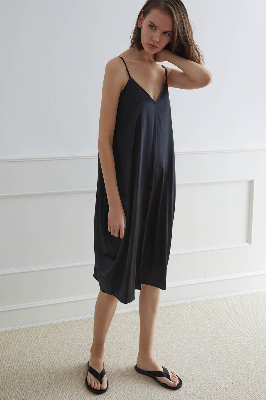 SANDNES Camisole Gown with Lantern Base