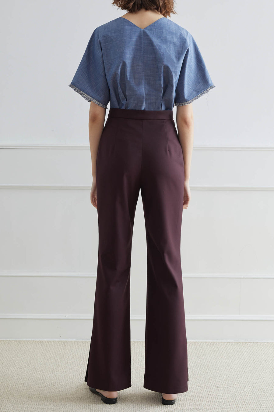 TOLEDO High-Waisted Flare Pants