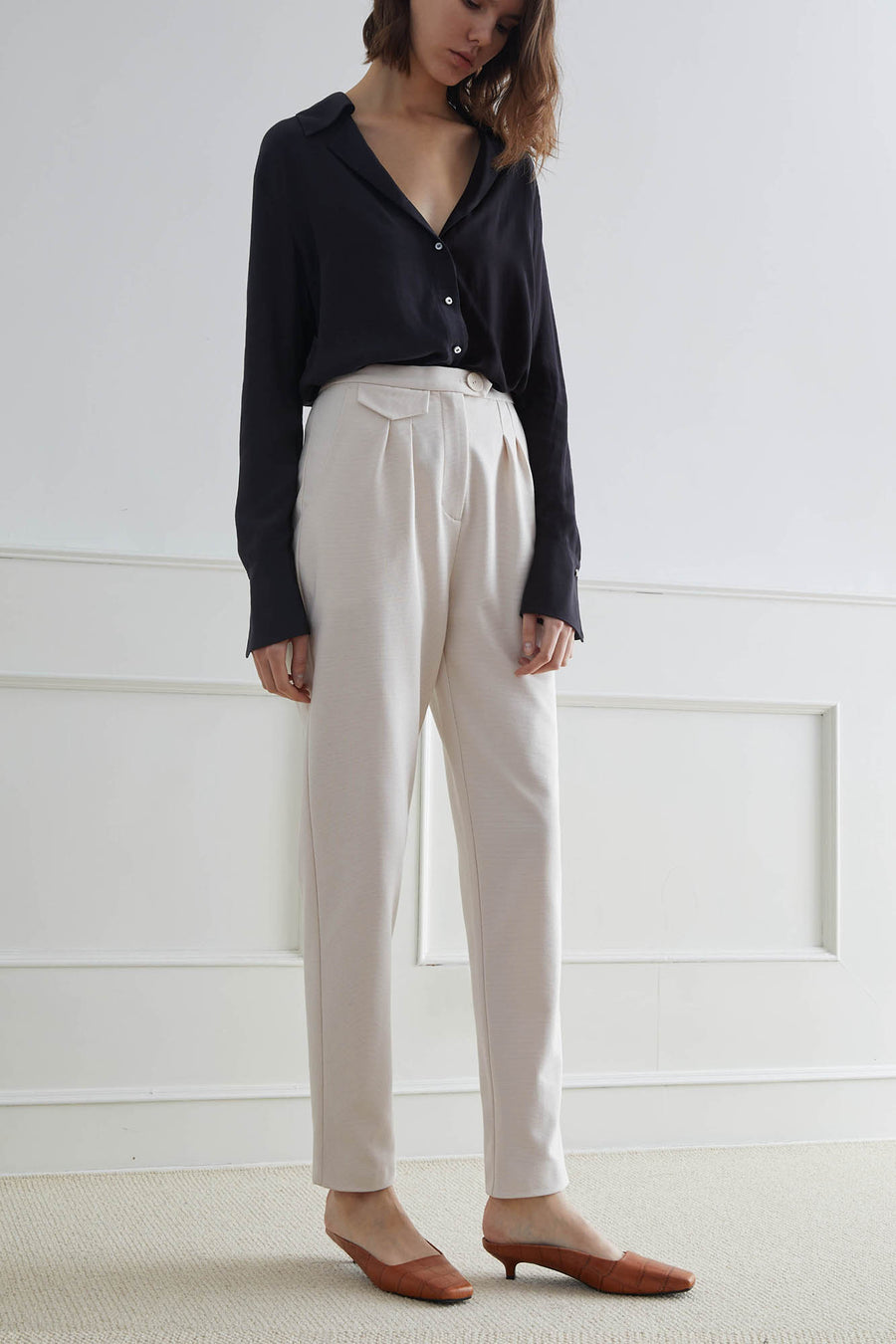 DEVON Corduroy Pencil Pants