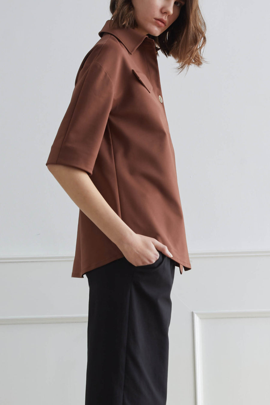 KASSEL Tailored Shirt With Pockets