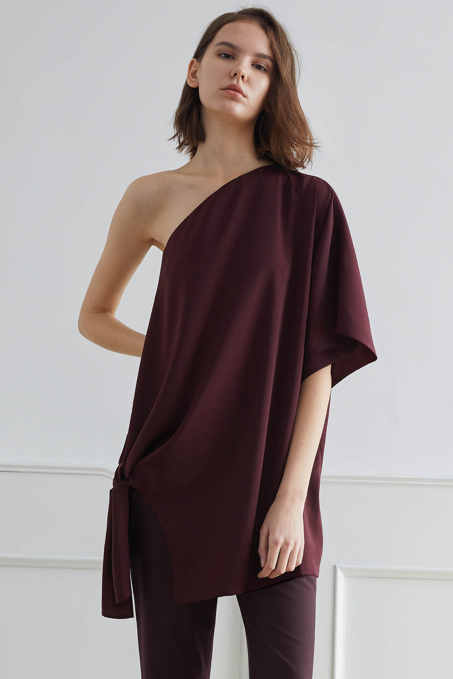GIZA Side-Tie Toga Top