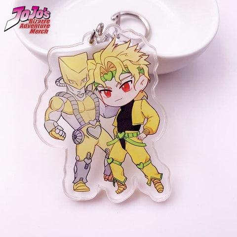 Dio Brando and The World Keychain