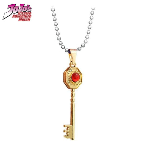 JJBA Mr. President Key Necklace