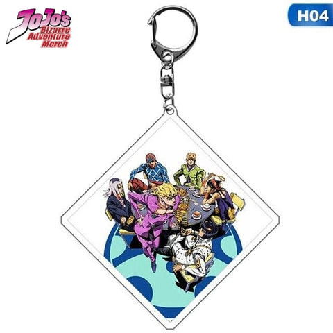 JoJo Golden Wind Keychain