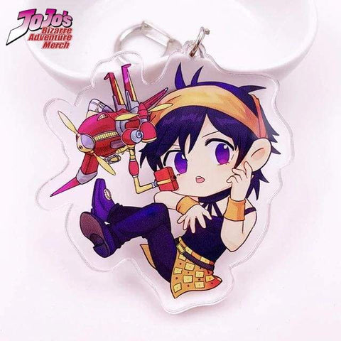 Narancia and Aerosmith Keychain